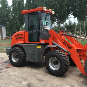 1.0t Wheel Loader with Rops &Fops Cabin pictures & photos