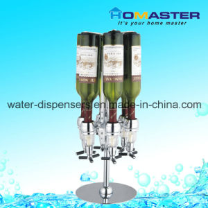 Six Bottles Wine Cooler Dispenser for Household (HDD-BB6) pictures & photos