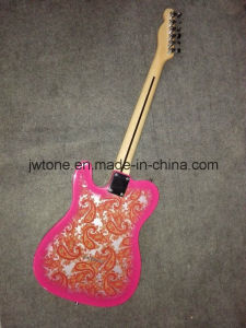Popular Paisley Quality Tele Electric Guitar pictures & photos