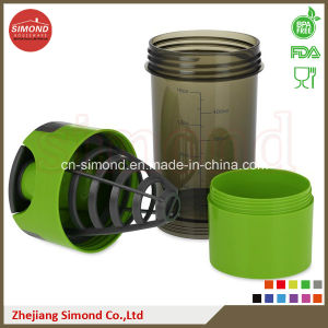 500ml Hot Sales Shaker Cup with Plastic Mesh pictures & photos
