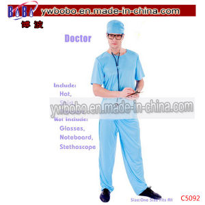 Carnival Costumes Apparel Doctor Party Fancy Dress Costume (C5092) pictures & photos