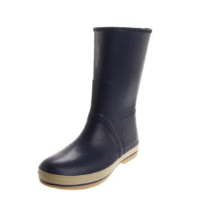 Top Quality OEM Design Men′s Rubber Rain Boot pictures & photos