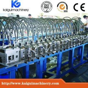 T Bar T Grid Forming Machine with Gear Box Transmission pictures & photos