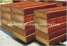 Red Copper Alloy Ingot Metal 99.99%