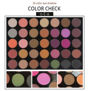35 Colors Eye Shadow Palette Make up Matte Shimmer Long Lasting Eyeshadow Waterproof Es0310 pictures & photos
