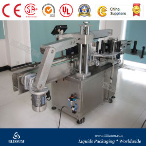 Automatic Adhesive Sticker Round Bottle Labeling Machine pictures & photos