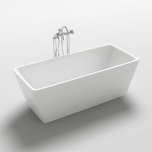 China 2015 Best Hot Square Acrylic Bathtub China Queen