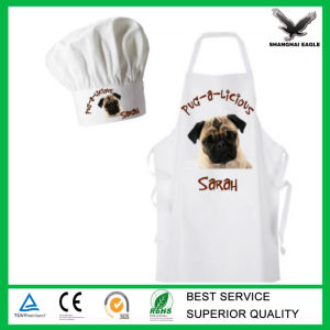 Apron for Chef with Mini Chef′s Hat Chef Apron pictures & photos