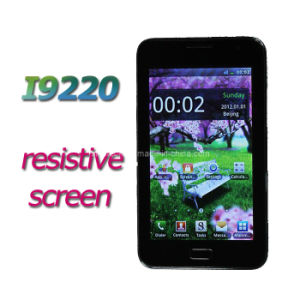 I9220 5.0 Inch Resistive Touch Screen Quad Band Dual SIM Mobile Phone