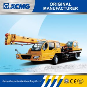 XCMG Hydraulic Auto Crane 12ton Small Mobile Crane Qy12b. 5 pictures & photos