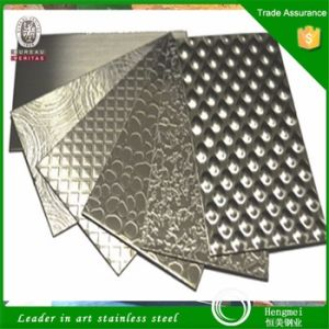 Best Sellers Embossed Finish Decorative Stainless Steel Sheet for Kitchen Accessories pictures & photos