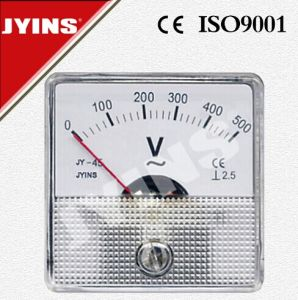 CE 45*45mm AC DC Voltmeter pictures & photos