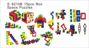 Puzzle Toy, Educational Toy, Teaching Aids, Space Puzzles (S-8210B)