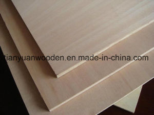 Okoume/Bintangor Faced Poplar Core Commercial Plywood pictures & photos