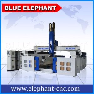 Ele3050 Styrofoam 4 Axis Atc CNC Router Machinery for Wood Door Furniture pictures & photos