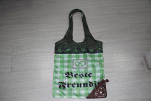Newest Folding Shopping Bag, String Bag, Gift Bag, Shoe Bag with Heart Shape