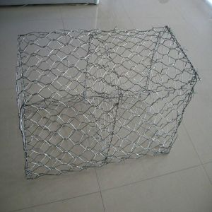 60*80mm, 80*100mm Hot Galvanized Gabion Box pictures & photos