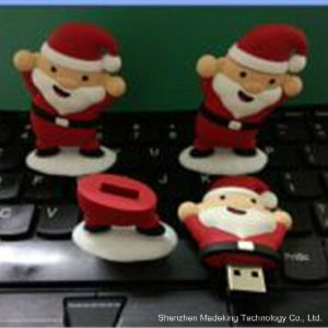OTG USB Flash Drive Christmas Man Pen Drive pictures & photos