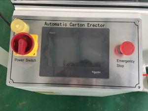 TUV Endorsed Carton Forming Machine with Schneider PLC pictures & photos