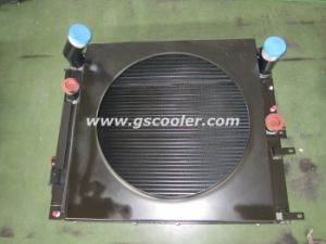 Aluminum Cooler with Fan Package for Baumag Loader pictures & photos