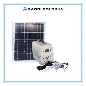 Small Solar Power System for Home Using, 5W, 10W, 20W pictures & photos