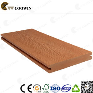 Red Brown Solid Decking WPC Terrace Decking pictures & photos