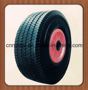 10 Inch Flat Free PU Foam Wheel pictures & photos