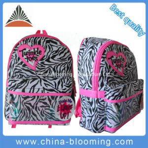 Cotton Fabric Children Backpack School Student Bag pictures & photos