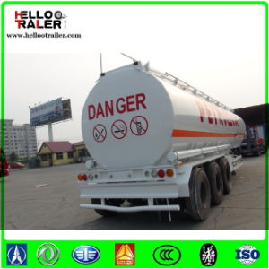 Low Price 3 Axle 42000L Oil Tanker Trailer pictures & photos