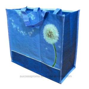 Fashion PP Woven Laminated Bag, Reusable Tote Women Bag with Customized Design pictures & photos