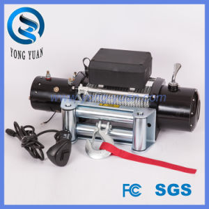 up-Down /Sliding Ring Gear/Synthetic Rope /Wire Rope Electric Winch of 8000lb-14500lb (DH13000F) pictures & photos