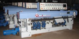 9 Motors Automatic Glass Straight Line Grinding Machine pictures & photos