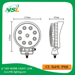 Cheap 27W LED Work Light Spot Flood Beam Factory Price pictures & photos
