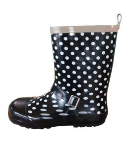 Girls Fashionable Rain Boots pictures & photos