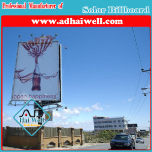 LED Lighting Advertising Billboard Display Green Power Solar Solution pictures & photos