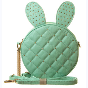 Fashion Bunny Quilted Cross Body Studded Messenger Bag (XD140357)