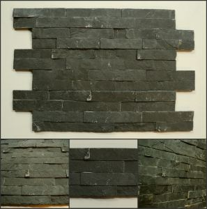 Wholesale Natural Black Slate Tiles for Wall Decoration pictures & photos