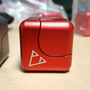 New Hot Alloy Cube Fidget Spinner pictures & photos