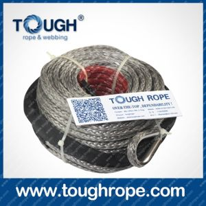 Tr-10 Winch for Boat Trailer Dyneema Synthetic 4X4 Winch Rope with Hook Thimble Sleeve Packed as Full Set pictures & photos