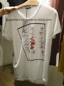 Best Seller Men Printing T-Shirt with Cotton Fabric