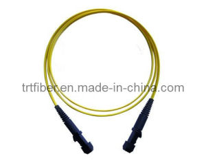 Fiber Optic Patch Cord MTRJ SM (Fiber jumper) pictures & photos