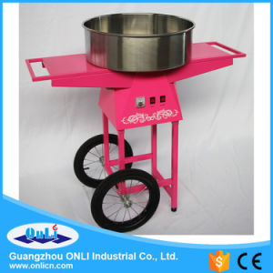 Professional Electric Automatic Flower Candy Floss Maker Cotton Candy Machine with Cart Price pictures & photos
