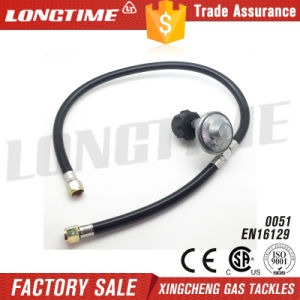 Longtime LPG Gas Pressure Regulator Kit with Double Burner Connections pictures & photos