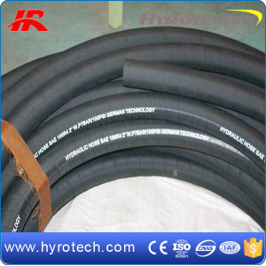 Manufacturer of Hydraulic Wire Braided Rubber Hose/Tube/Pie SAE 100 R4 pictures & photos