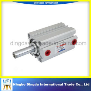 Water-Proof Improved with Through Bore Double Effect Pneumatic Cylinder pictures & photos