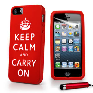Fashion Protector Silicone Mobile Phone Case for iPhone 5 pictures & photos