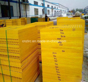 Fiberglass/GRP/ FRP Mesh for Walkway/ Platform, Trench and So on pictures & photos