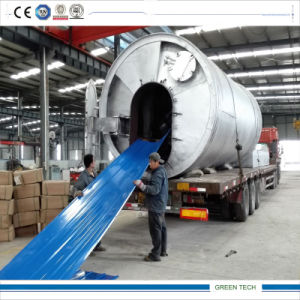 High Configuration Stailess Steel Pyrolysis Equipment 12tpd pictures & photos