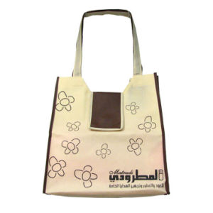 Black Non-Woven Gift Promotional Bags for Advertisement (FLN-9042) pictures & photos