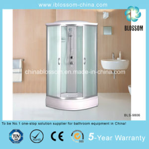 4mm Matt Glass Sector Shower Room/Cubicle/Cabin/Enclosure (BLS-9806) pictures & photos